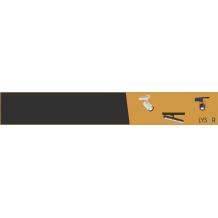 Patères/Rails LED